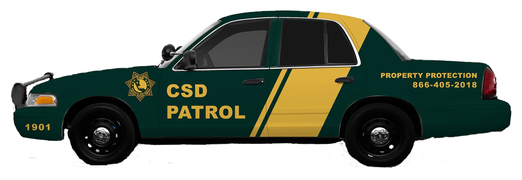 Hire CSD Security Services for mobile patrol in your neighborhood.